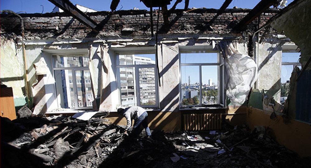 Ukraine : des coups d'artillerie de nouveau entendus à Donetsk