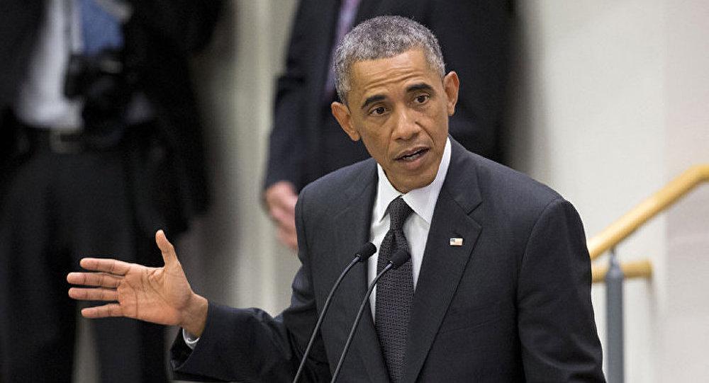 Obama a exhorté le monde à s'unir contre la Russie