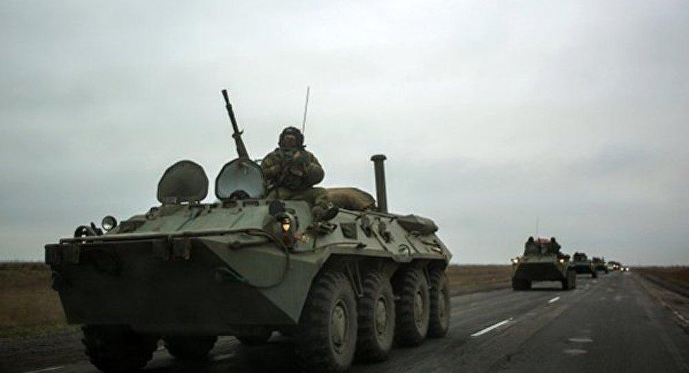 Ukraine : des blindés apparus dans les rues de Kharkov