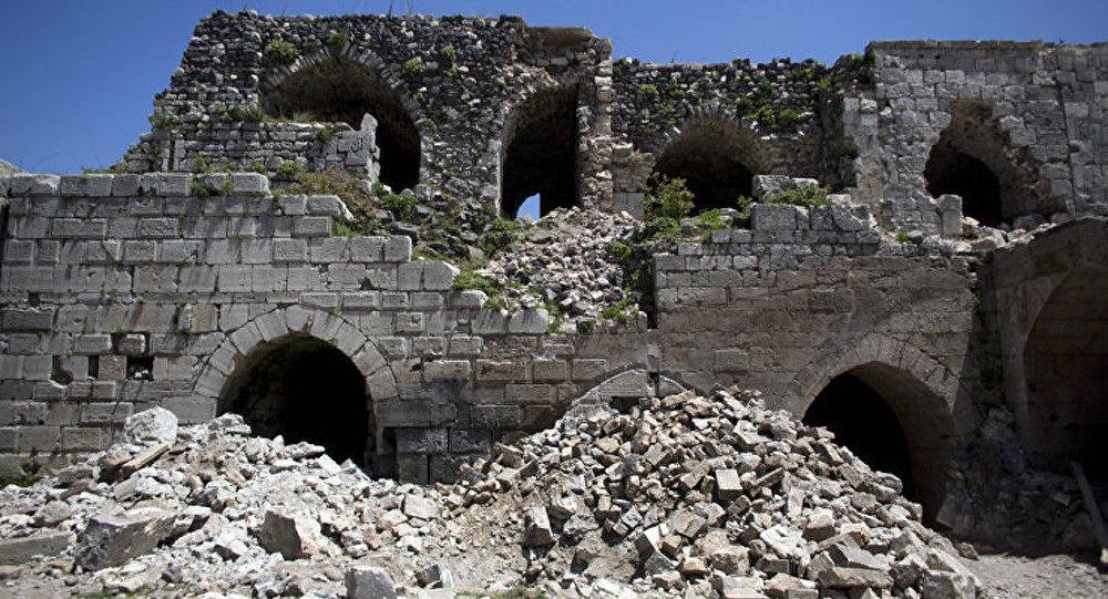 Syrie : un patrimoine culturel en détresse