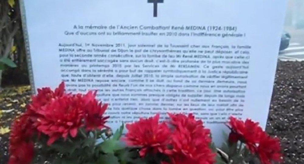 Profanation : Rebsamen et la sépulture du soldat Médina (Vidéo)
