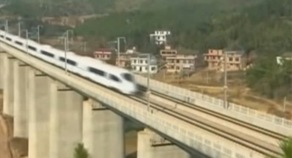 TGV, Chine