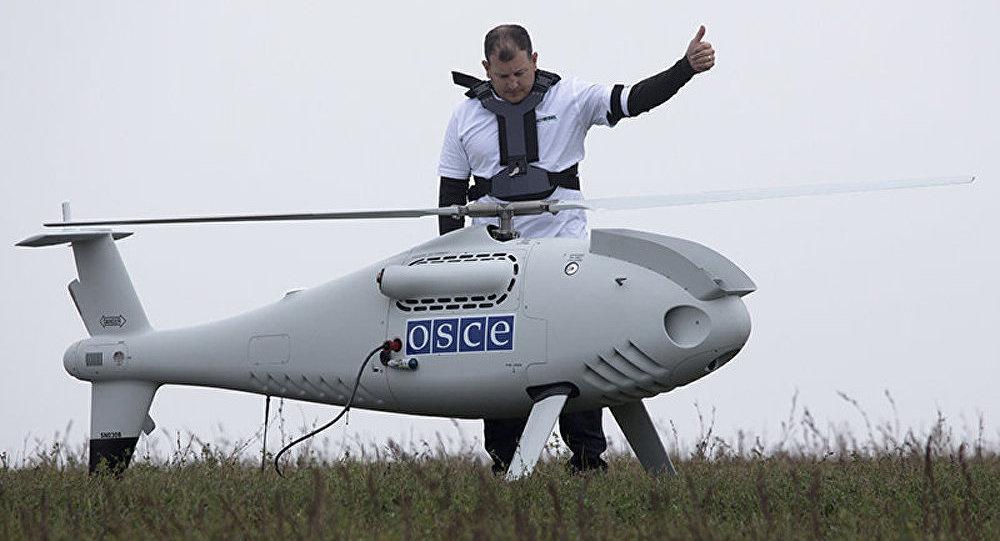 L'OSCE n'a enregistré aucun déplacement de matériel militaire à la frontière russo-ukrainienne