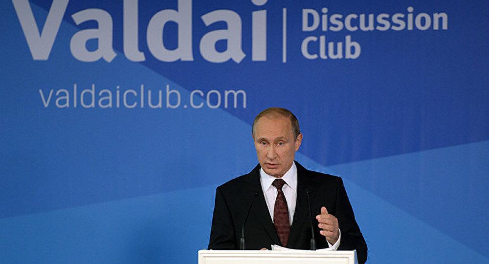 L'Occident aux prises avec les conséquences de sa politique (Poutine)