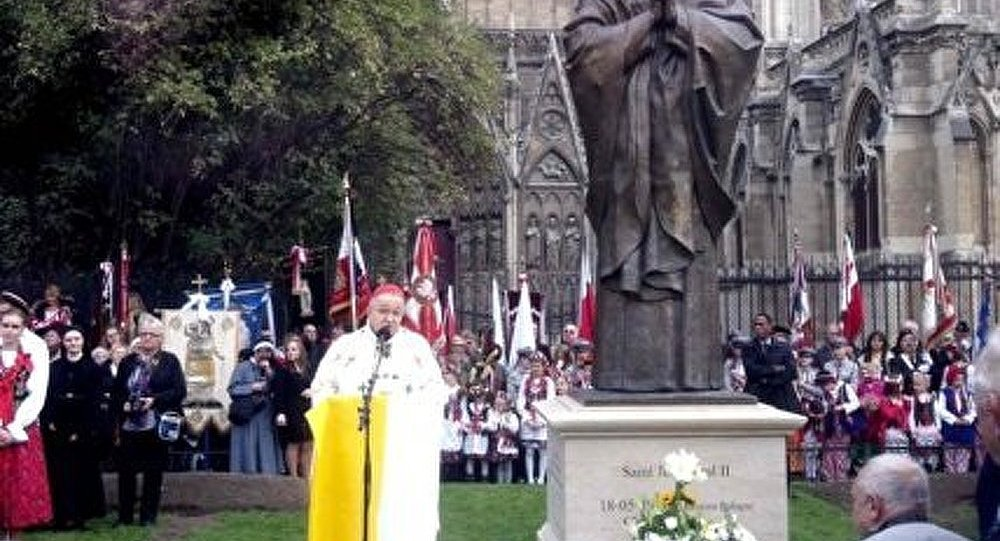 Un monument de Jean-Paul II ouvert à Paris