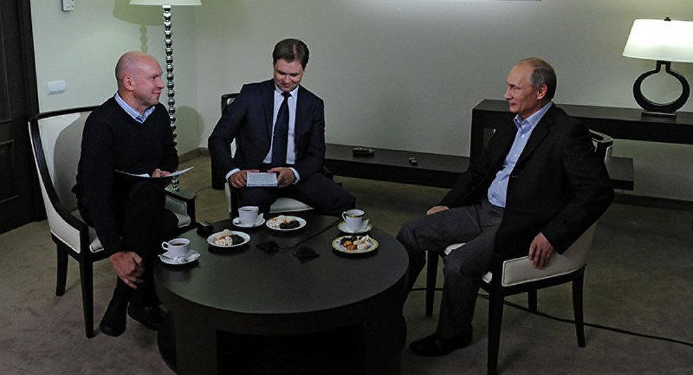 Interview du président Poutine à l'agence d'information russe TASS