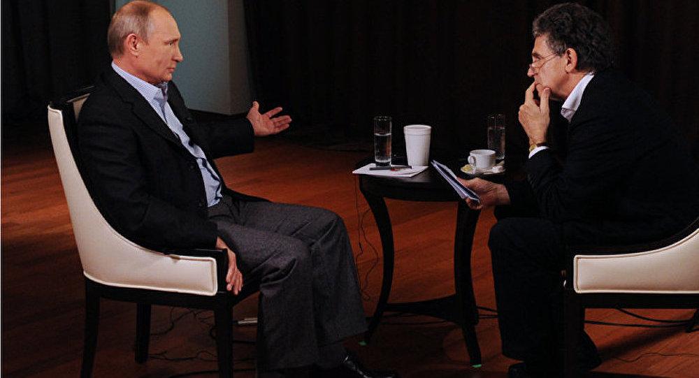 Interview du président Poutine à la chaîne de télévision allemande ARD