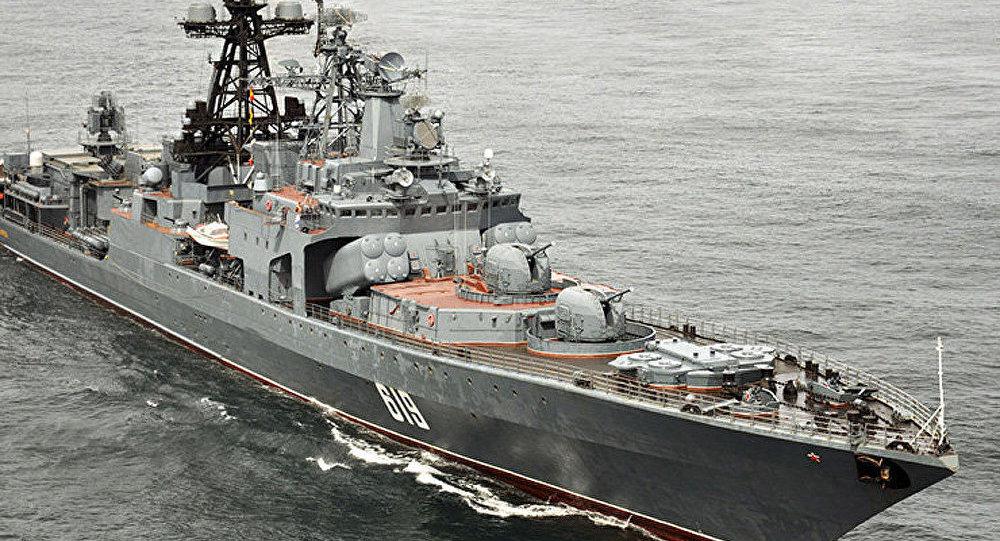 Le destroyer russe Severomorsk