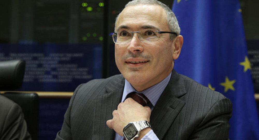 Khodorkovski se prononce contre les sanctions anti-russes