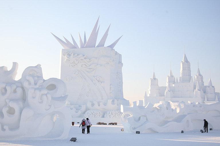 Harbin, la ville aux sculptures de neige