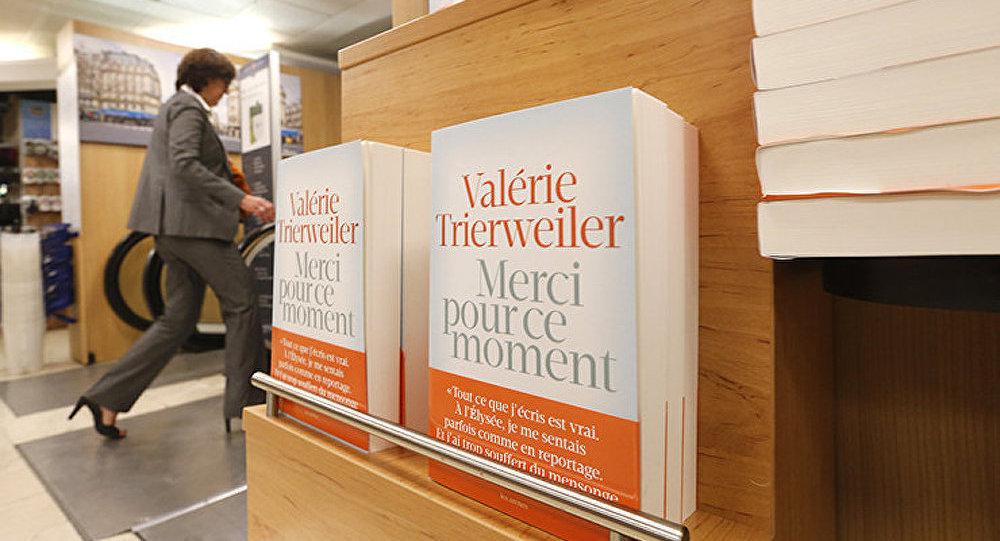 France: le bestseller de Valérie Trierweiler va être adapté au cinéma