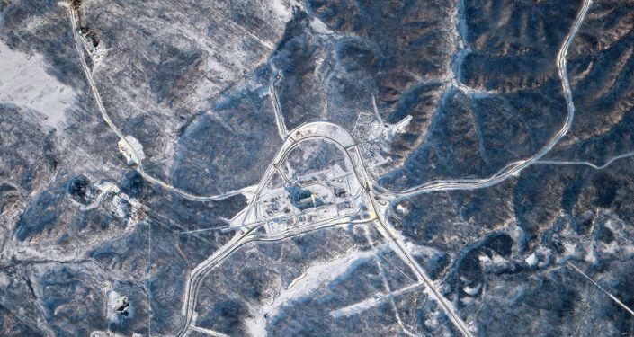 Le cosmodrome Vostotchny vu depuis l'ISS