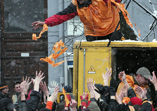 révolution orange, Kiev