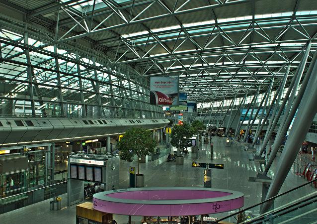 Düsseldorf Airport HDR