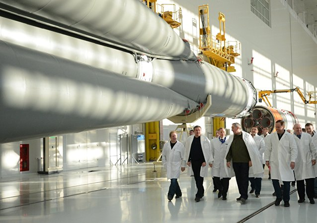 Vice-premier ministre Dmitri Rogozine lors d'une réunion sur le développement de l'aviation militaire