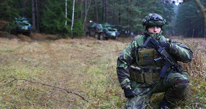 Soldat tcheque