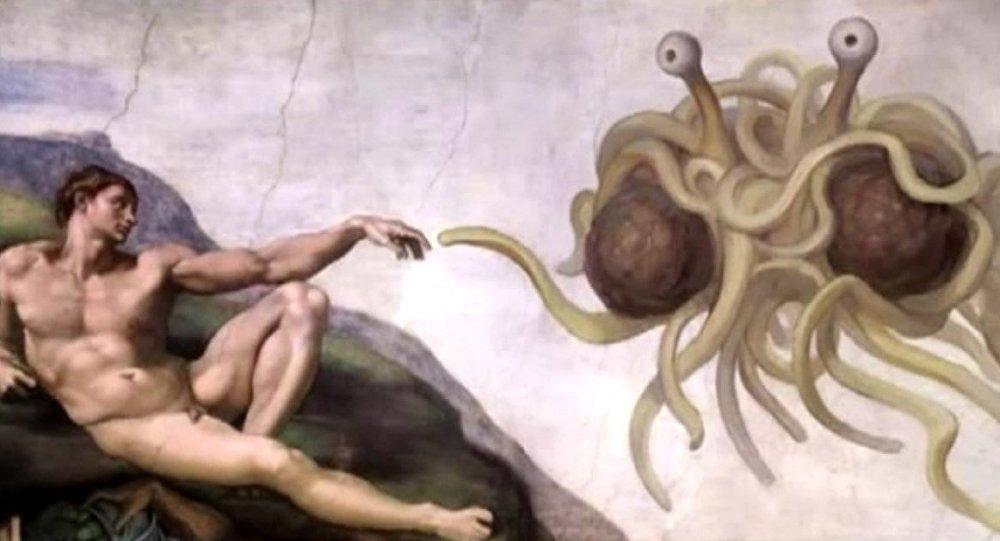 Eglise du Monstre en spaghettis volant