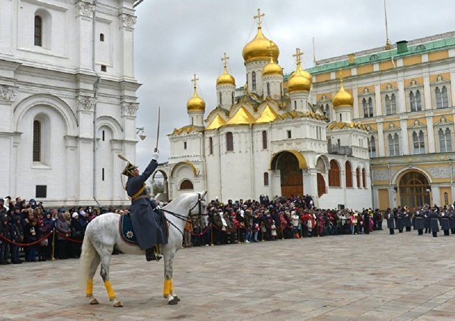 La dernière parade des gardes a eu lieu au Kremlin cette année