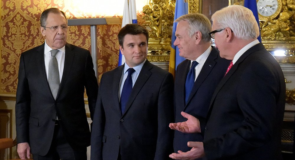 un ministre ukrainien refuse de faire la photo avec Lavrov