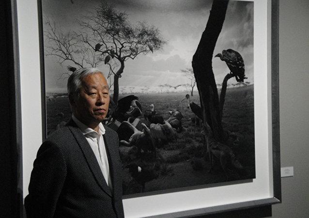 Le photographe japonais mondialement connu Hiroshi Sugimoto