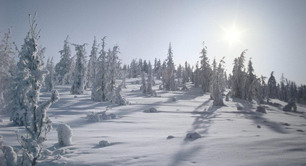 L'hiver à Oïmiakon, en Russie