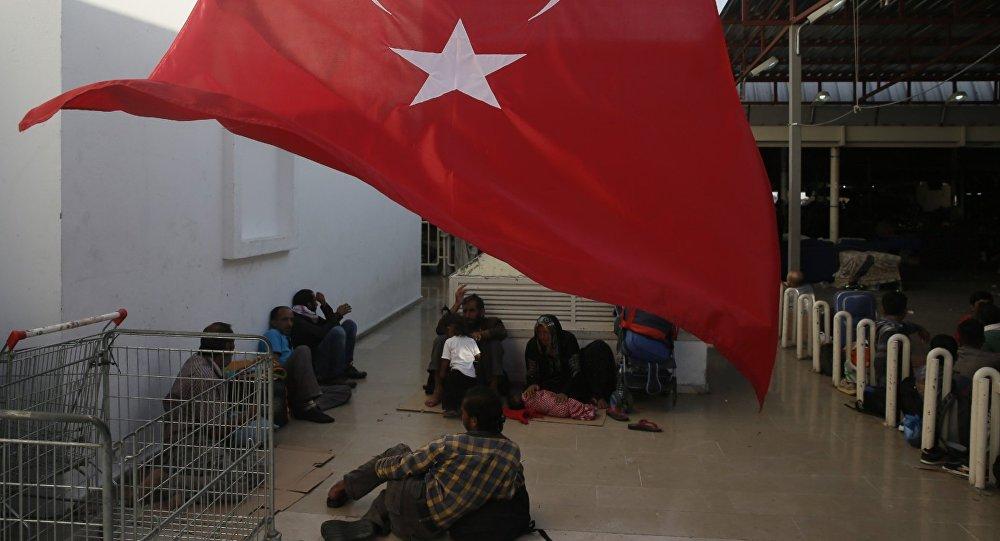 migrants en Turquie