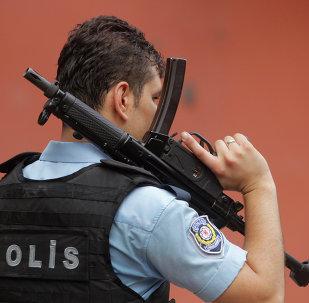 la police à Istanbul