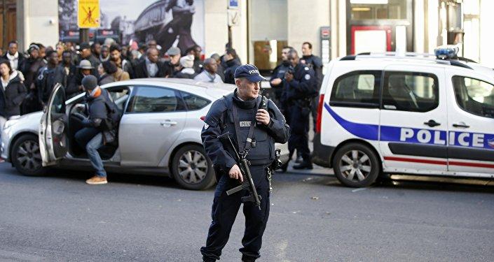 Un policier de Paris