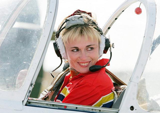 Svetlana Kapanina, femme-pilote