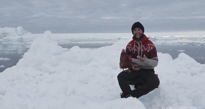 Guirec et Monique au Groenland