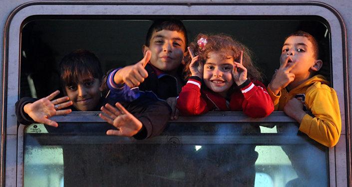 Enfants-réfugiés