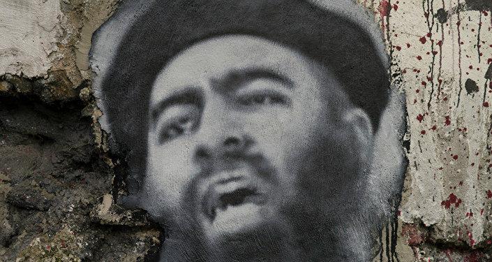 Portrait du numéro un de Daech, Abu Bakr al-Baghdadi