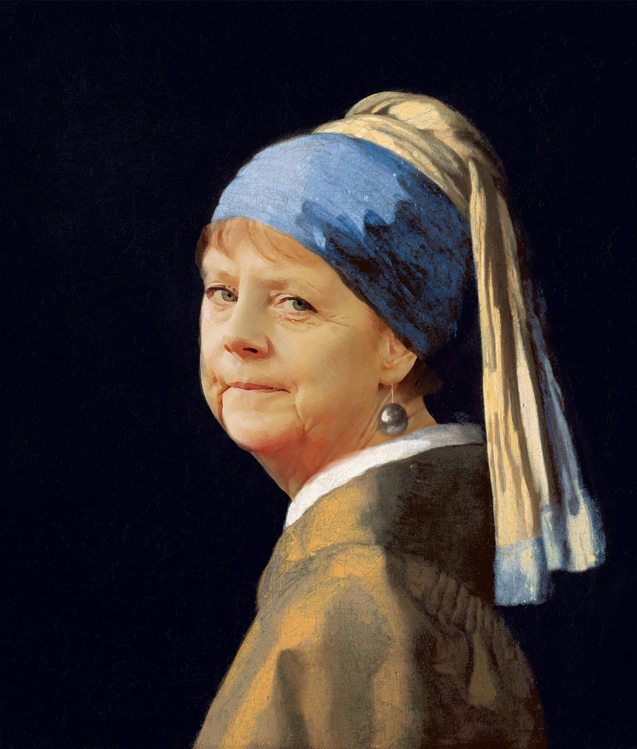 Merkel à la perle