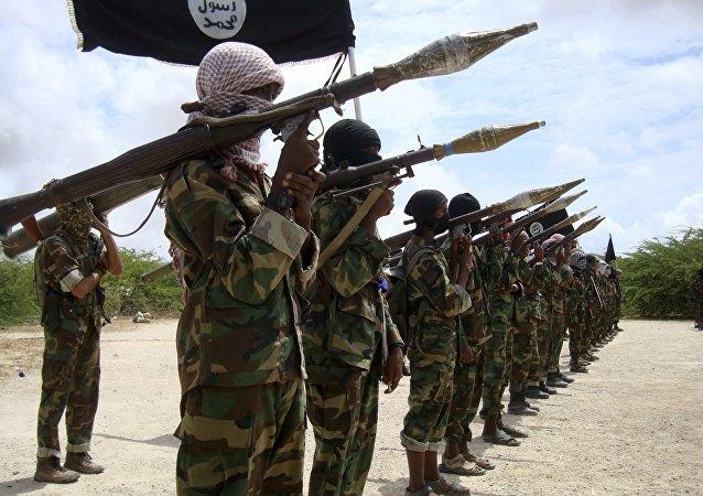 Combattants du groupe islamiste Al-Shabbaab