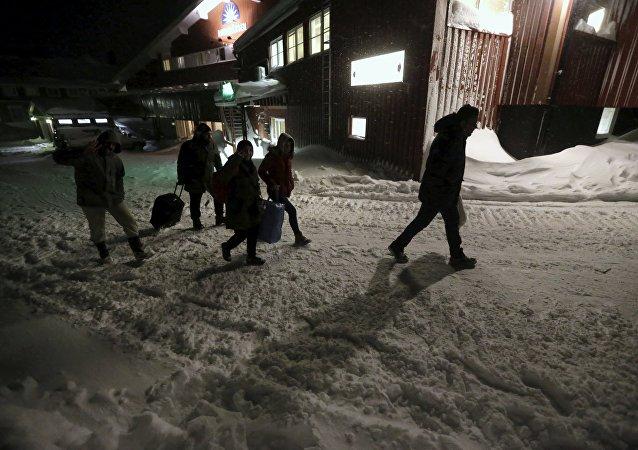 Les réfugiés en Suède