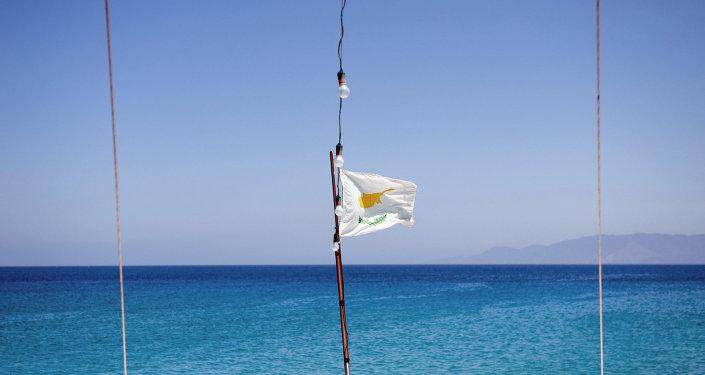 Le drapeau de Chypre