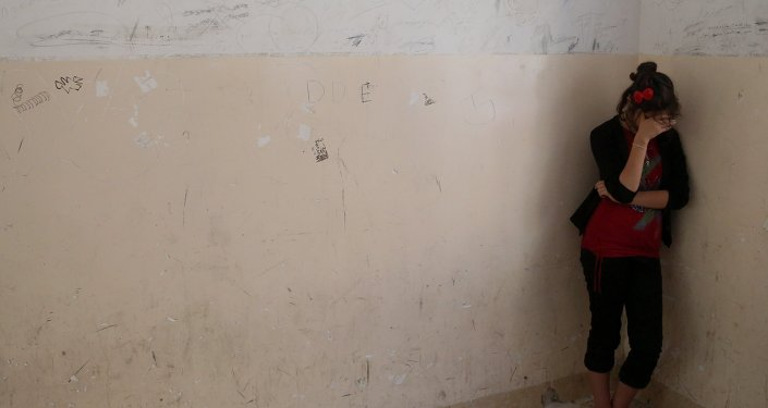 une femme yézidie