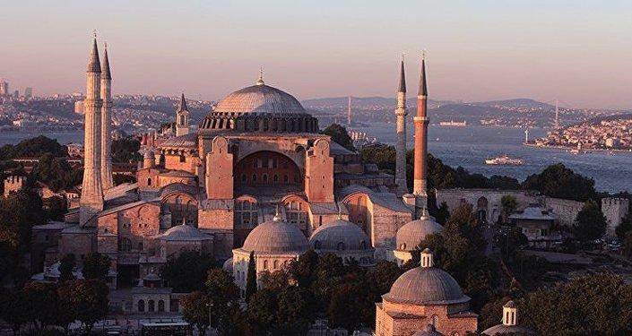 Istanbul. L'ex-basilique Sainte-Sophie