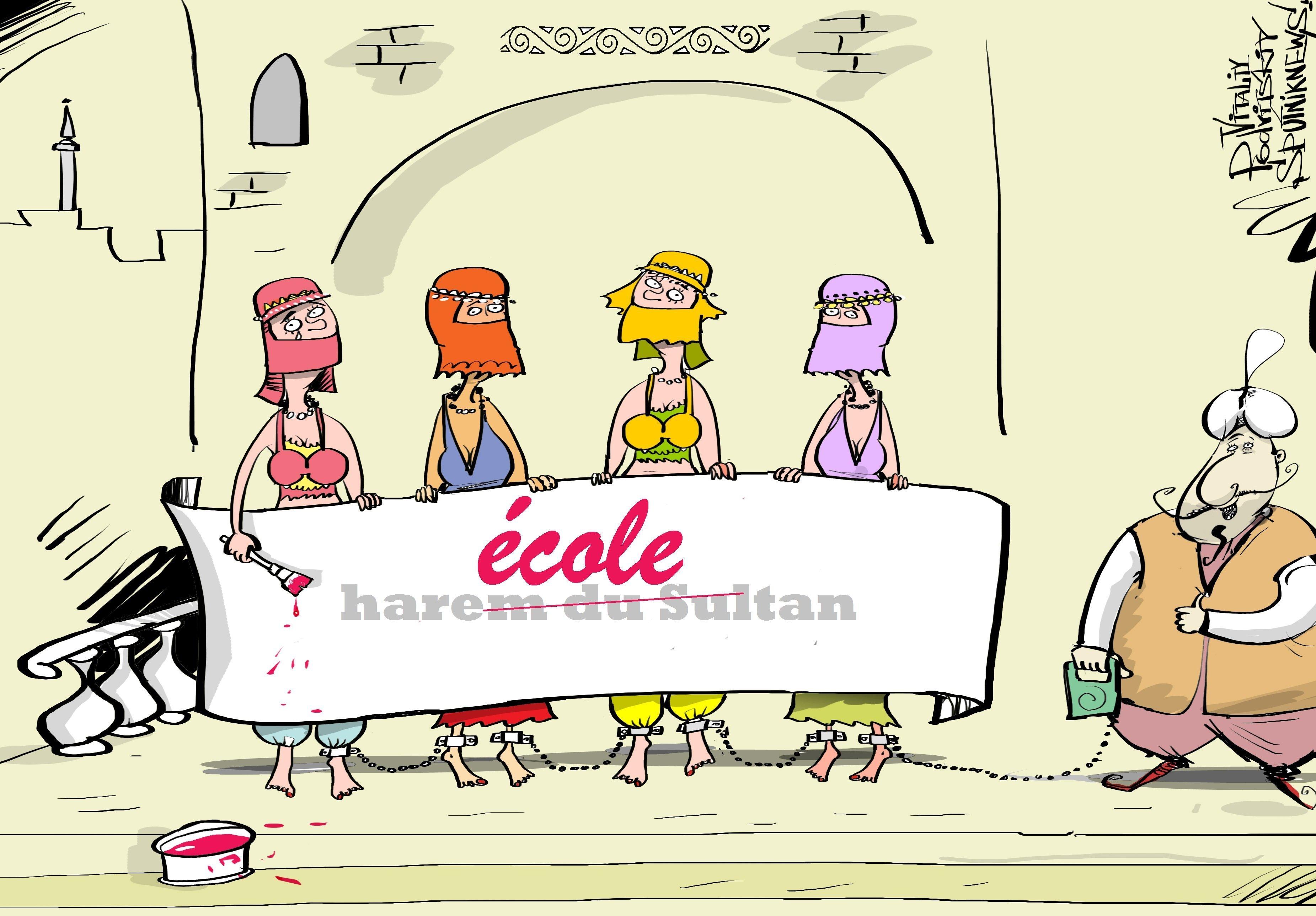 Harem, école de la vie?