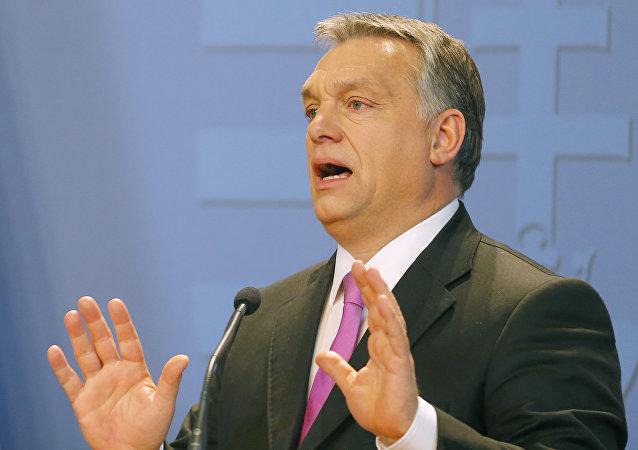 Le Premier-ministre hongrois Viktor Orban