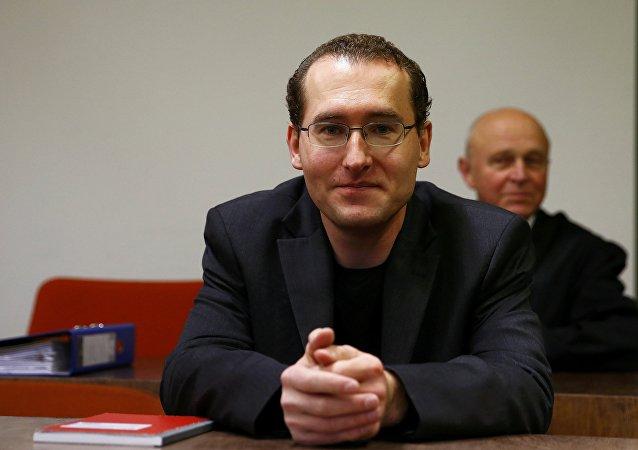 Markus Reichel lors de son procès à Munich