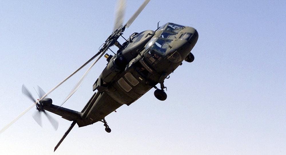 L'hélicoptère UH-60 Blackhawk