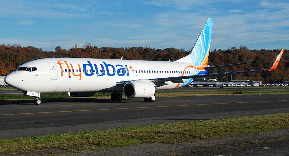 Boeing-737 de la compagnie aérienne Flydubai