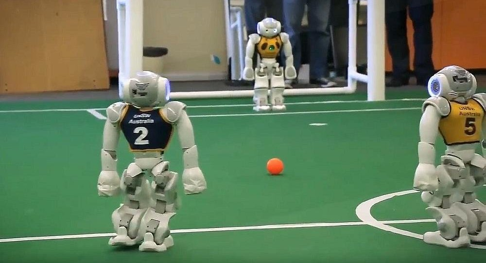 Bientôt des Jeux Olympiques pour les robots