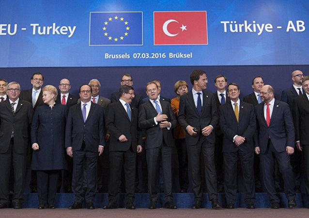 Le sommet UE-Turquie