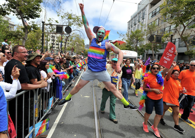 Gay Pride à San Francisco
