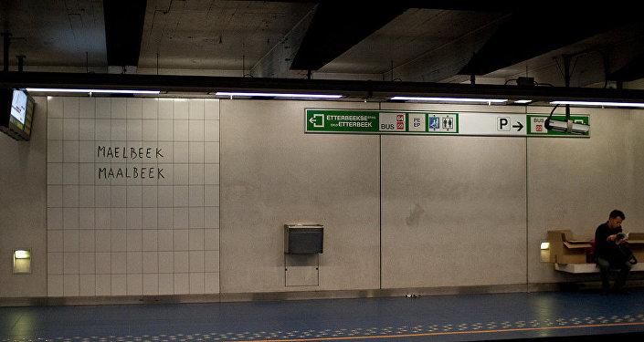 station de métro Maelbeek