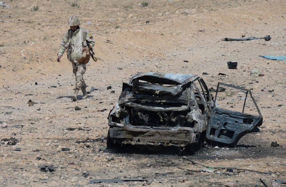 Offensive de l'armée syrienne et de la milice populaire sur Palmyre