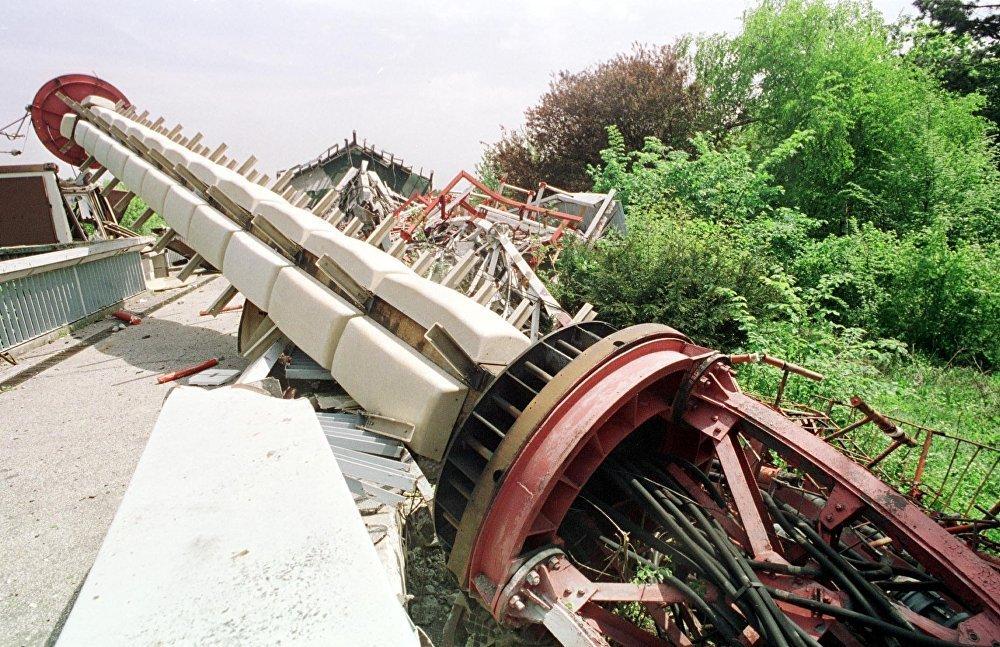 Les bombardements en ex-Yougoslavie