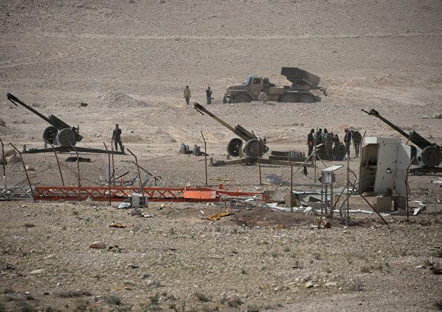 Artillerie syrienne